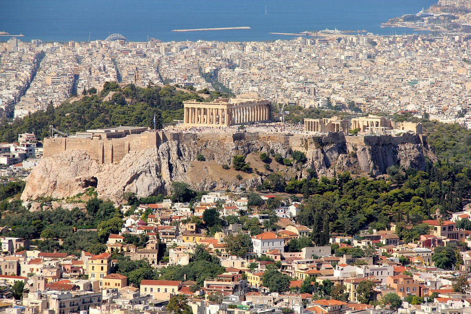 Athens view image